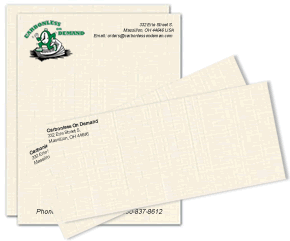 Letterhead and Matching Stationary Envelopes
