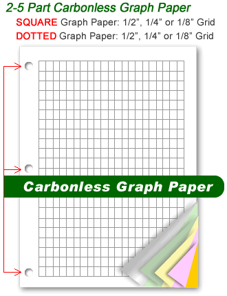 carbonless graph paper