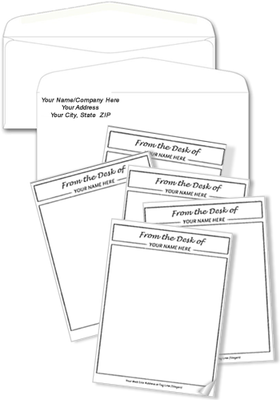 Notepads and Envelopes