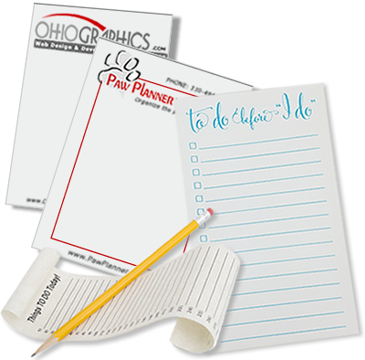Personalized Notepad Printing
